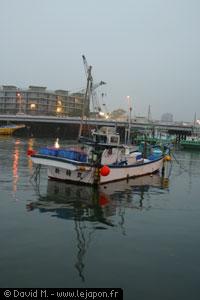 Bateau de pêcheur japonais