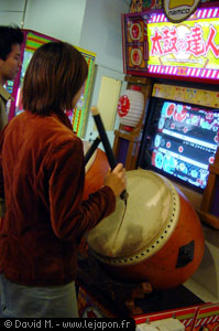 Tambour japonais en jeu vidéo