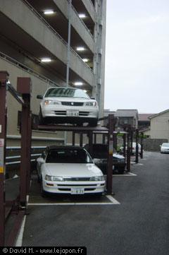 Parking pour voitures