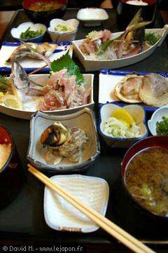 Spécialités culinaires d'Enoshima