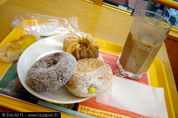 Mister Donut à Kyoto