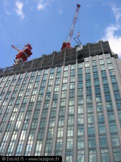 Immeuble de bureaux japonais