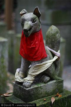 Statue de Renard
