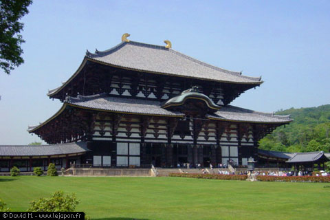 Temple Todaiji avec grand Bouddha à Nara