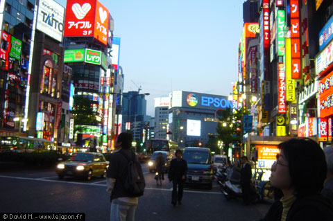 Shinjuku le quartier chaud de Tokyo