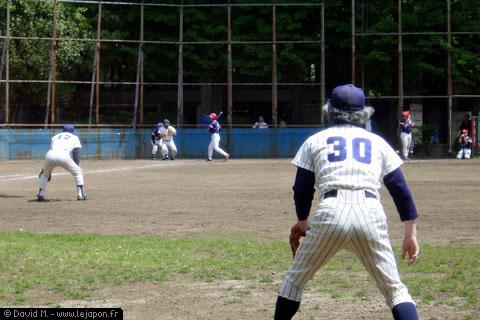Baseball ou Softball dans le parc de Ueno à Tokyo - Japon