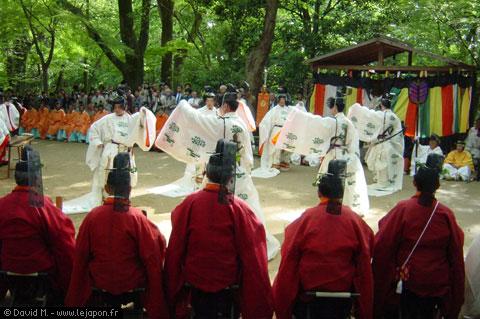 Mikage Matsuri au temple Shimogamo à Kyoto