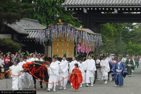 Aoi Matsuri à Kyoto