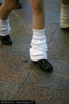 Chaussettes d'une japonaise