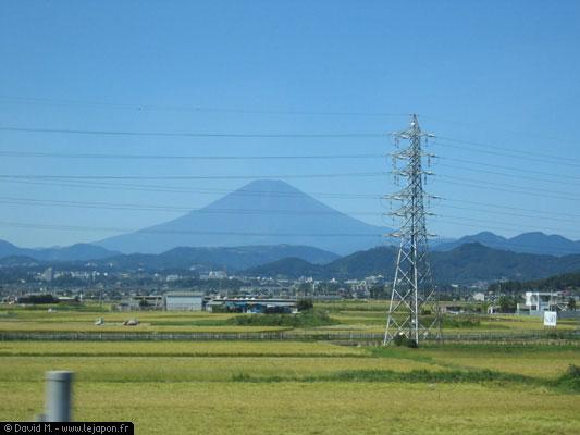 Fuji san sans neige au sommet