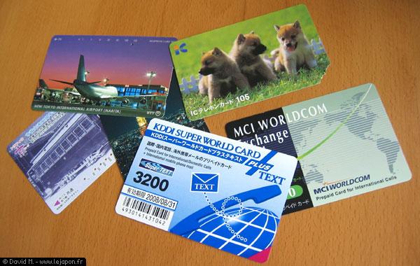 Cartes téléphoniques japonaise - Japanese phone cards