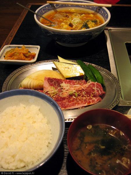 Plats Coréen au Japon: Yakiniku, Kimushi & co.