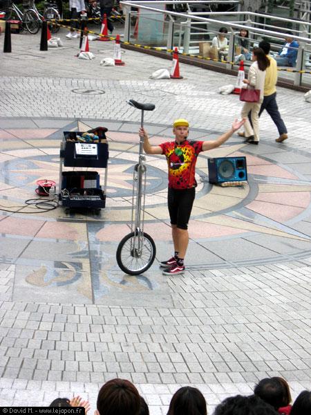 Etranger troubadour au Japon