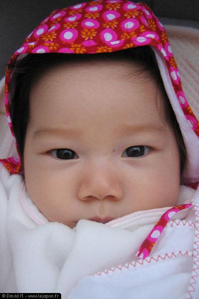 Yuna - bébé eurasienne