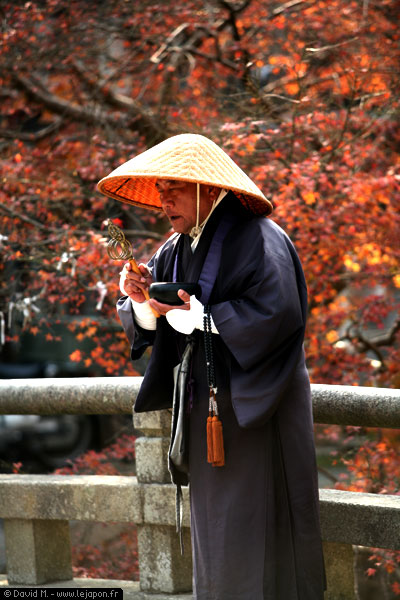 moine à Nara - Japon