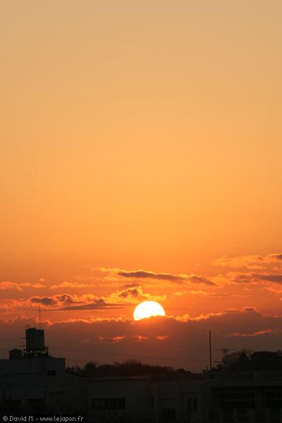 Premier levé de soleil au Japon pour l'année 2007 !
