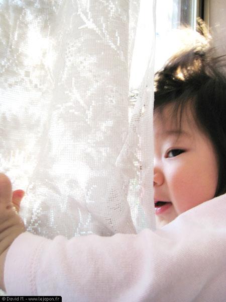 Yuna et le soleil japonais