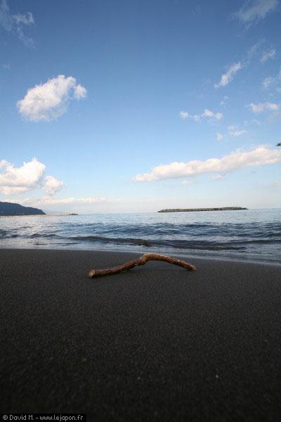 Plage d'Ito, ville sur la presque île d'Izu au Japon