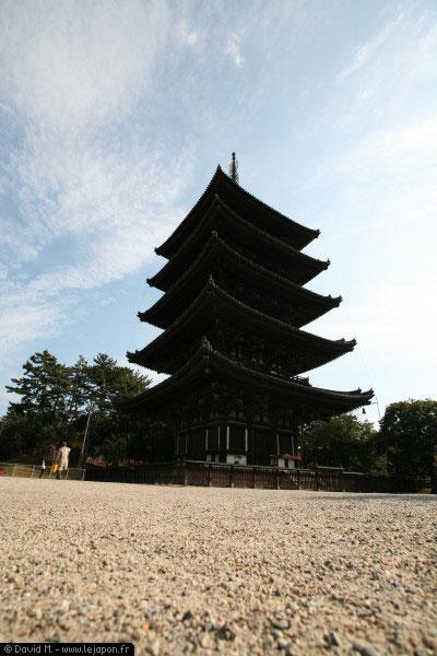 Pagode à 5 étages à Nara - Japon
