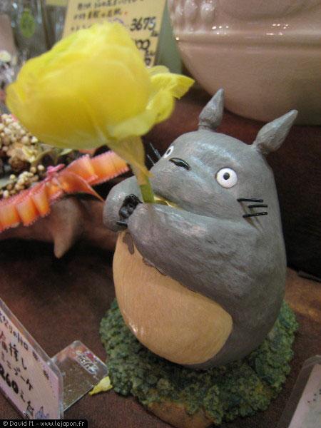 Petit vase Totoro au Ghibli Shop de Kamakura - Japon