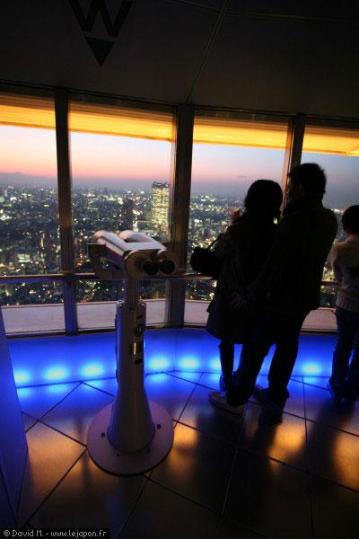 Tokyo by night vu de la Tokyo Tower