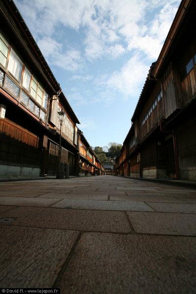 Higashijaya gaï à Kanazawa - Japon