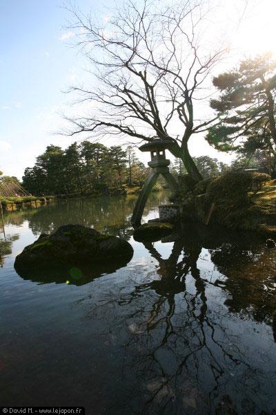 Parc Kenrokuen à Kanazawa - Japon