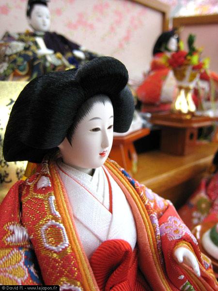 Ohinasama pour Hina Matsuri - Fête des filles au Japon