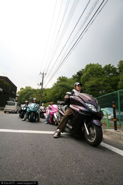 Motos d'Akira en vrai au Japon