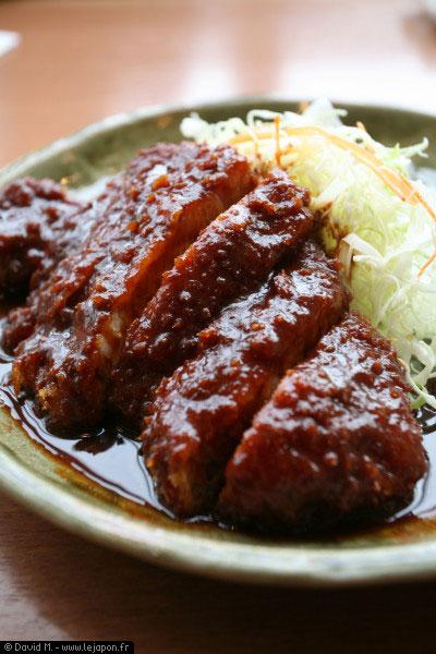 Miso katsu est une spécialité de Nagoya - Japon