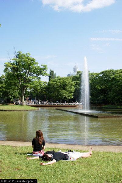 Yoyogi Koen Parc à Tokyo - Japon