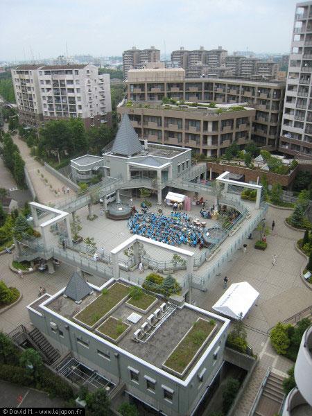 Petit Matsuri de quartier au Japon