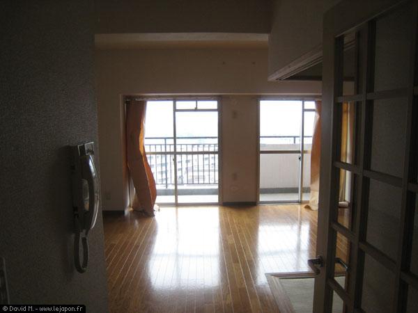 Appartement japonais avec tatamis