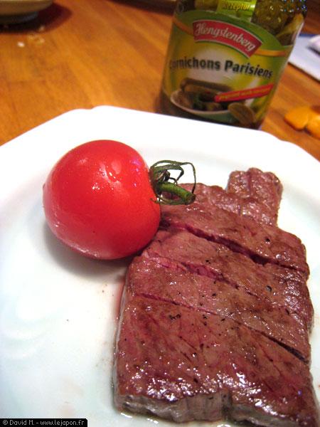 Petit steak mais grand plaisir au Japon