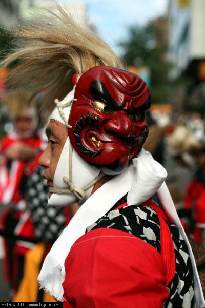 Matsuri/festival à Bashamichi à Yokohama - Japon