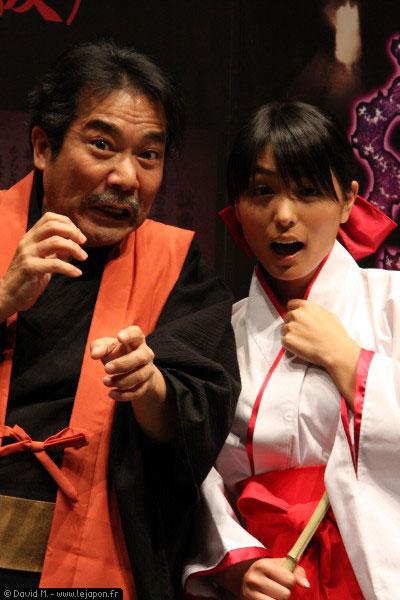 Banpresto new game with Kawamura Yukie