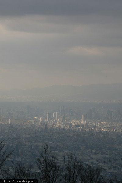 Osaka vue du ciel