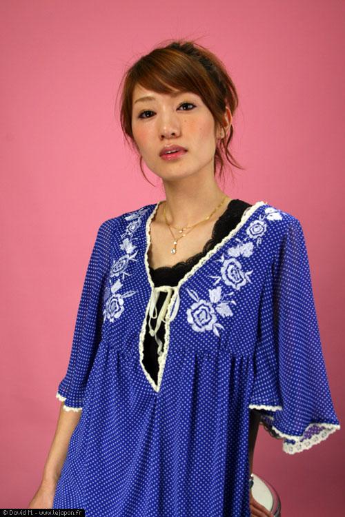 Top modèle japonaise