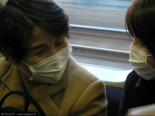 masque japonais anti virus