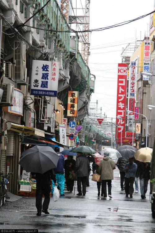 Pluie sur Tokyo / Black Rain pour de vrai !