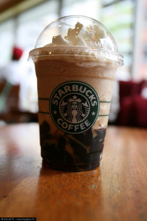Starbucks Coffee Jelly Frappuccino Blended Coffee