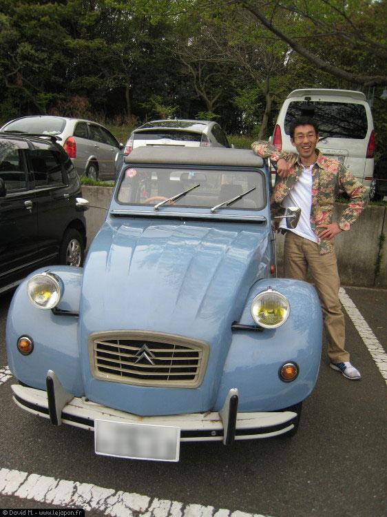 Citroën 2CV deux chevaux au Japon