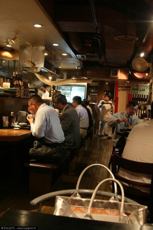Petits restaurants japonais