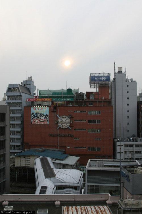 Chaleur sur Tokyo