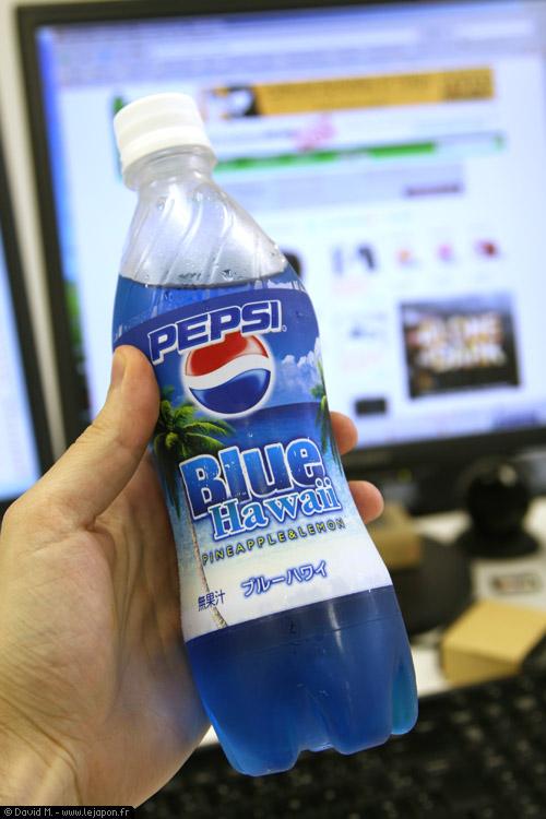 Pepsi Blue Hawaii