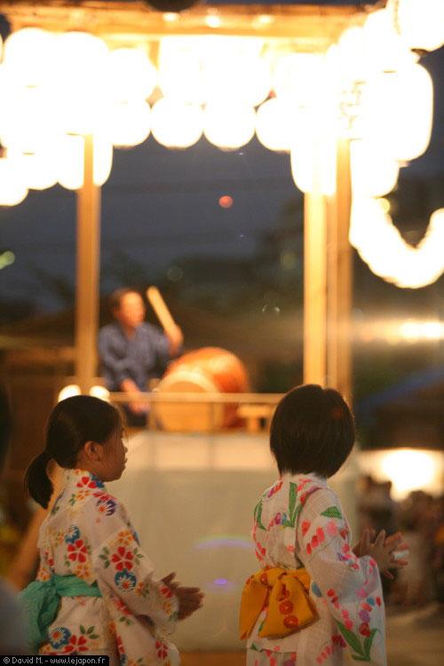 Tsukudajima Matsuri festival Bon Odori