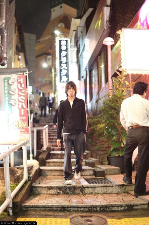 Une ruelle de Shibuya