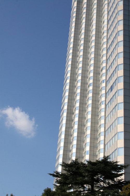 Ciel bleu sur Tokyo
