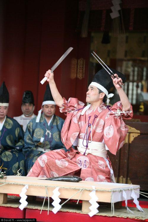 Houtyou Gisiki au sanctuaire Kanda Myoujin