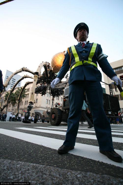 Les créatures de La Machine -anciennement Royal de Luxe- envahissent les rues de Yokohama